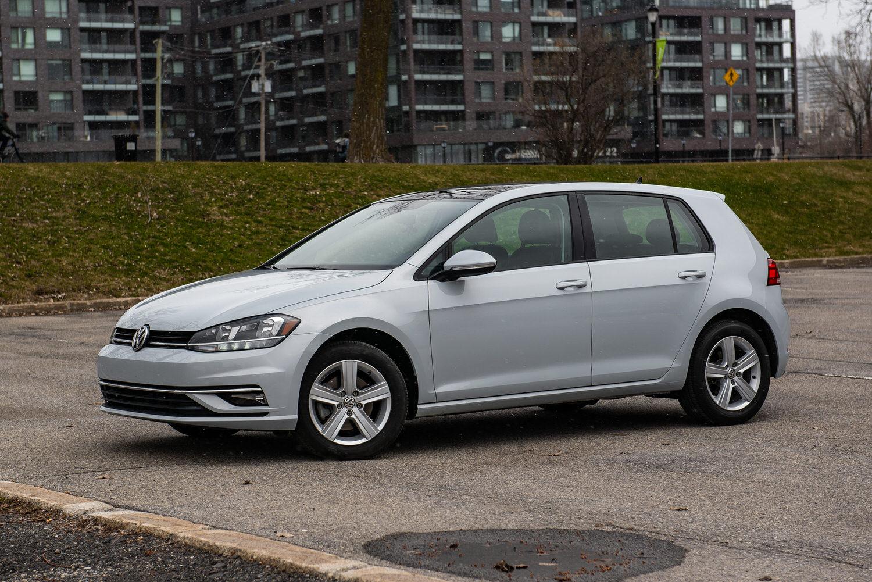 Volkswagen Golf 2019 montreal rental